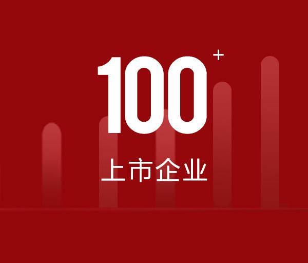 100+上市企业